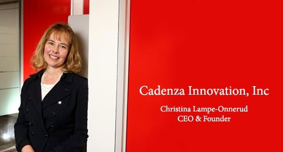 ciobulletin cadenza innovation inc christina lampe onnerud ceo founder
