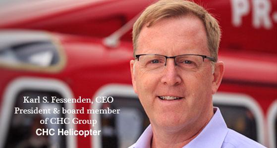 ciobulletin chc helicopter karl s fessenden ceo president board member of chc group