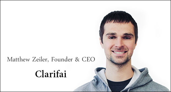 Clarifai: An artificial intelligence company that excels in visual recognition, solving real-world problems for businesses