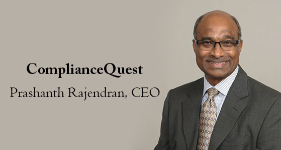 ciobulletin compliancequest prashanth rajendran ceo