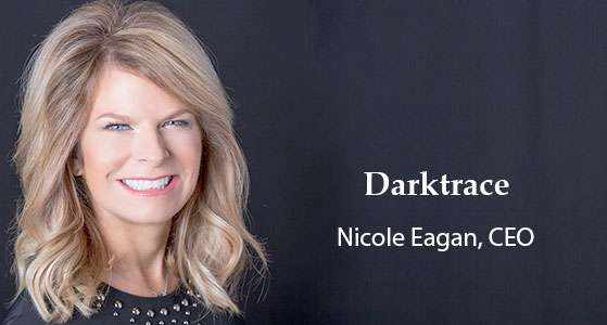 ciobulletin darktrace nicole eagan ceo