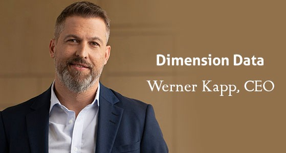 Werner Kapp, CEO of Dimension Data: With his extensive experience, has been at the forefront of the instigating growth of this innovative company