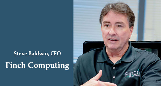 ciobulletin finch computing steve baldwin ceo