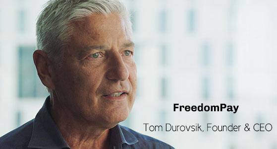 ciobulletin freedompay tom durovsik founder ceo