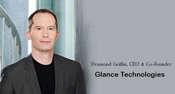 ciobulletin glance technologies desmond griffin ceo co founder
