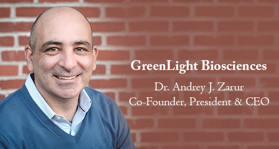 """GreenLight Biosciences """"Welcome to the GreenLight Revolution"""""""