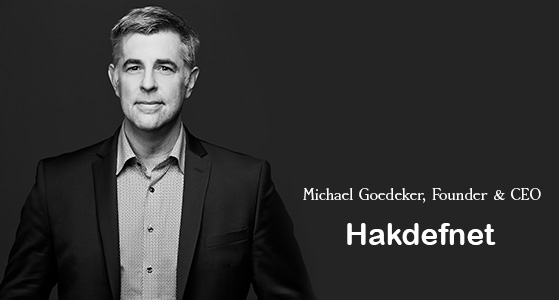 """""""We don't sell fear, we teach, consult and do research that creates intangible results,"""" Hakdefnet"""