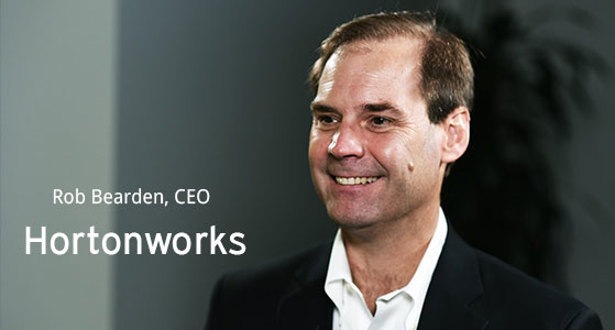 ciobulletin hortonworks rob bearden ceo