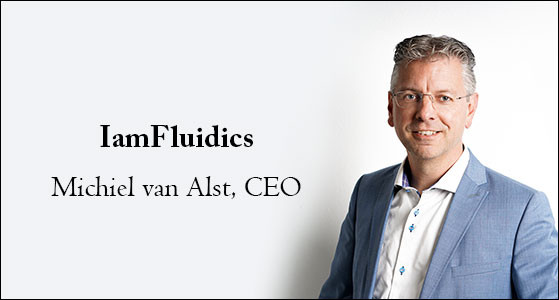 Michiel van Alst, IamFluidics BV CEO: 'We leverage innovative production processes to engineer superb, sustainable, and appealing products based on high-quality microparticles'