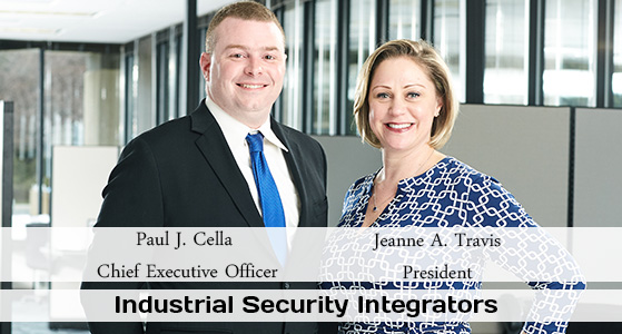 ciobulletin industrial security integrators paul j cella chief executive officer jeanne a travis president