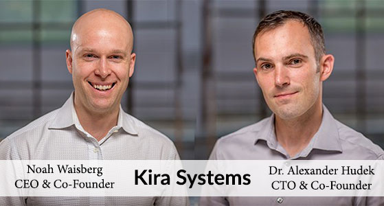 For Review and Analysis: Kira Systems, a Toronto-Based Developer of Machine-Learning Software, Helps Enterprises Uncover Relevant Information from their Contracts