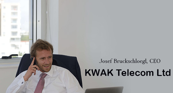 We are a leading telecom premium rate provider: KWAK Telecom Ltd.