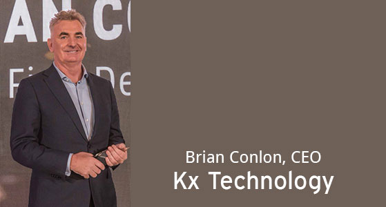 ciobulletin kx technology brian conlon ceo