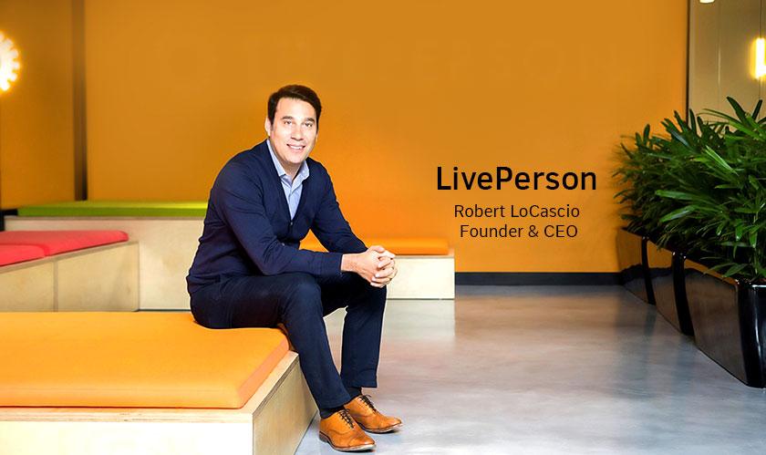 ciobulletin liveperson robert locascio founder ceo