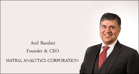 ciobulletin matrix analytics corporations anil bandari ceo founder