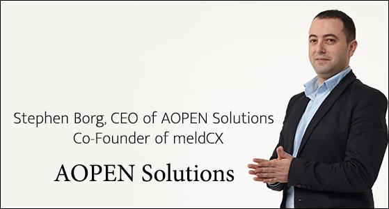 ciobulletin meldcx stephen borg ceo of aopen solutions co founder of meldcx