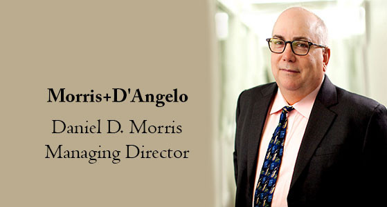 Morris+D'Angelo determines the value of investing its intellectual capital into its customer's business and lives
