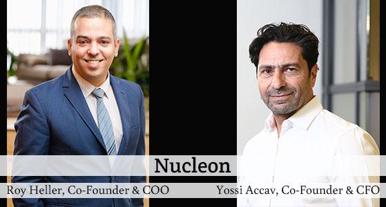 ciobulletin nucleon roy heller co founder coo yossi accav co founder cfo