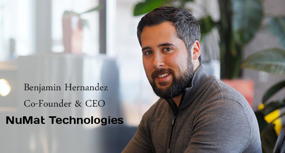 ciobulletin numat technologies benjamin hernandez co founder ceo