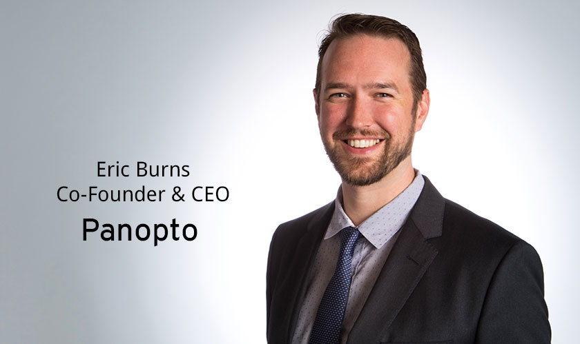 ciobulletin panopto eric burns co founder ceo