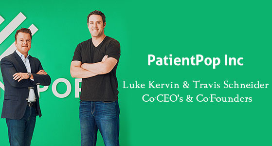 Luke Kervin and Travis Schneider, Co-founders of PatientPop are spearheading the organization with their enormous experience and workforce diversity
