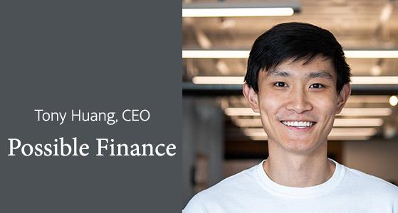 ciobulletin possible finance tony huang ceo