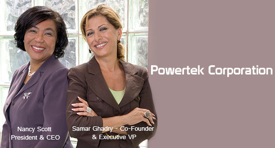 ciobulletin powertek corporation nancy scott president ceo samar ghadry co founder executive vp