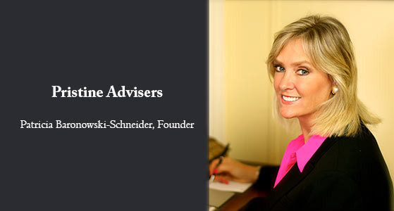 """Patricia Baronowski-Schneider, Pristine Advisers Founder: """"We effectively communicate your mission and goals to the audience that matters most to you."""""""
