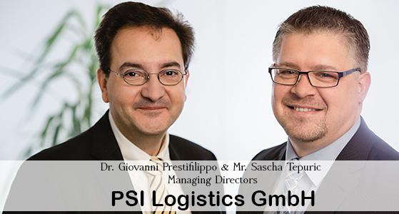ciobulletin psi logistics gmbh dr giovanni prestifilippo & mr sascha tepuric managing directors