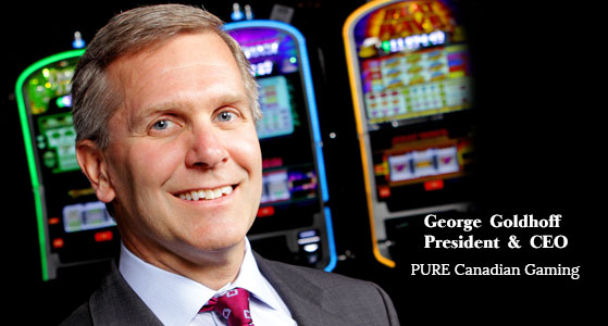ciobulletin pure canadian gaming george goldhof president ceo