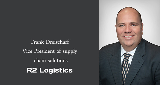 ciobulletin r2 logistics frank dreischarf vice president of supply chain solutions