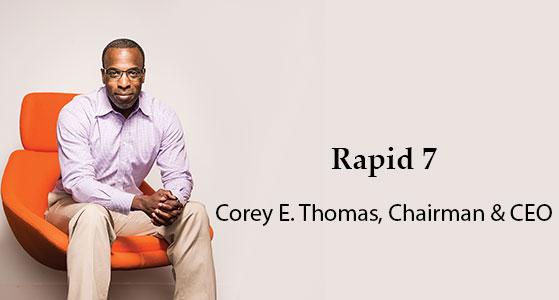 ciobulletin rapid7 corey e thomas chairman chief executive officer