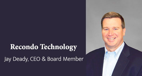 ciobulletin recondo technology jay deady ceo board member