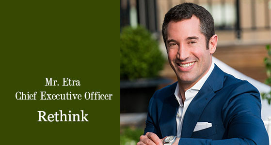 ciobulletin rethink Mr etra chief executive officer