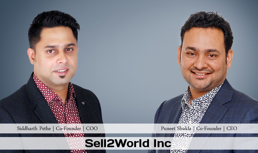 ciobulletin sell2world inc puneet shukla co founder ceo siddharth pethe co founder coo