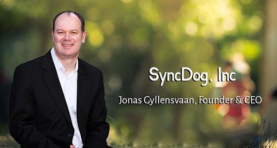 ciobulletin syncdog inc jonas gyllensvaan founder ceo.