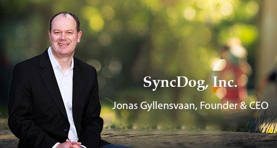 ciobulletin syncdog inc jonas gyllensvaan founder ceo