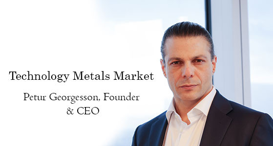 A global exchange marketplace that enables investors to trade a new asset class of high-value technology metals critical to global technology industries: Technology Metals Market