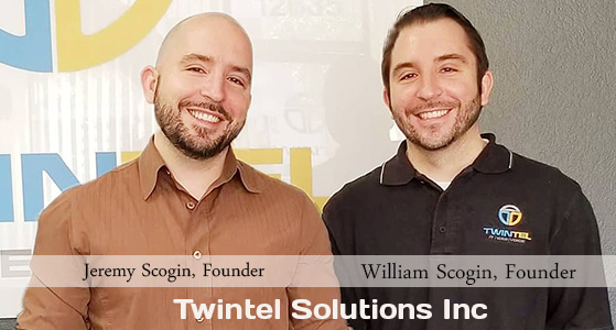 ciobulletin twintel solutions inc jeremy scogin founder william scogin founder