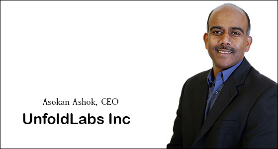 ciobulletin unfoldlabs inc asokan ashok ceo