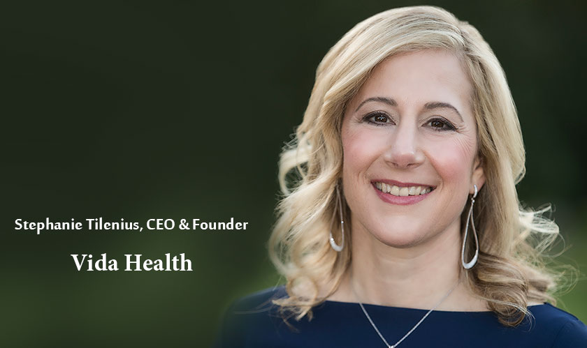 """""""We're committed, passionate, and data-driven and not afraid to push boundaries"""" –Stephanie Tilenius of Vida Health"""