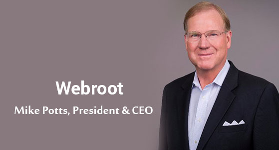 ciobulletin webroot mike potts president ceo