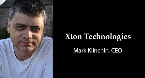 ciobulletin xton technologies mark klinchin ceo