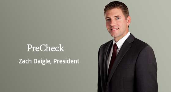 PreCheck Highly integrated suite of talent screening and monitoring solutions to healthcare organizations