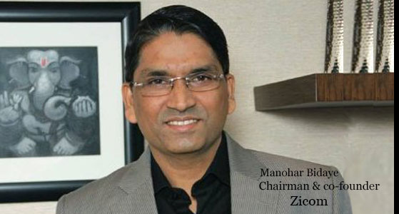 ciobulletin zicom manohar bidaye chairman co founder
