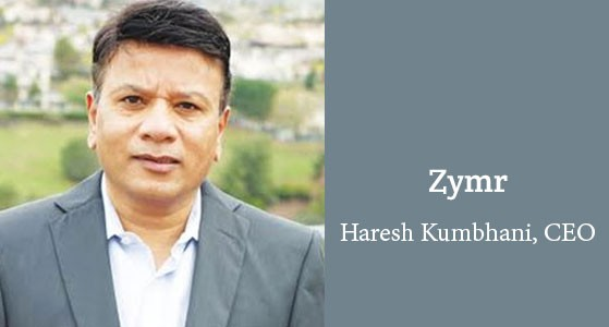 Zymr: Builds cutting-edge cloud technology solutions for IT, Social, HealthCare, and FinTech markets
